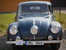 TATRA - La REPUBBLICA CECA automobilistica storica di sport e della corsa HRADEC KRALOVE- immagini stock libere da diritti