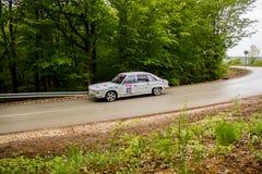 Tatra 613 on Miskolc Rally Hungary. 2016 Royalty Free Stock Images