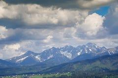Tatra mounains royalty free stock image