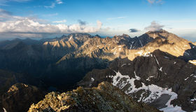 Tatra mountain Royalty Free Stock Images