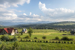Tatra Mountain landscape in Poland Stock Photos
