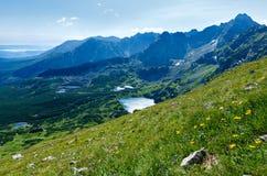 Summer Tatra Mountain, Poland Royalty Free Stock Images