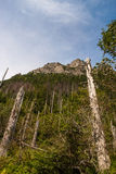Tatra Mountain View in Polen Lizenzfreies Stockfoto