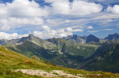 Tatra mountains on August 2014. Tatra mountains (Poland) on AUGUST 2014 Stock Photos