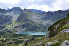 Tatra mountains on August 2014. Tatra mountains (Poland) on AUGUST 2014 Royalty Free Stock Images
