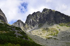 Tatra mountains on August 2014. Tatra mountains (Poland) on AUGUST 2014 Royalty Free Stock Photos