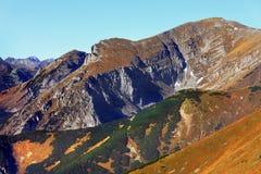 Tatra Mountains in autumn colors, Zakopane, Poland Royalty Free Stock Photos