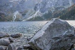 Tatra Mountains. Beautiful landscape, Moskie oko , lake Royalty Free Stock Image