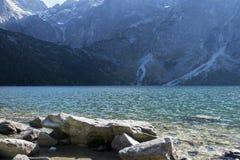 Tatra Mountains. Beautiful landscape, Moskie oko , lake Stock Image