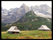 Tatra Mountains. Dolina Gąsinicowa. One of the most beautiful places in Poland Stock Image