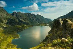 Tatra mountains. Five Polish Lakes valley, one of the most characteristic and picturesque areas of Tatra mountains Stock Photo