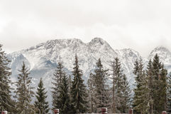 Tatra Mountains with Giewont peak Stock Photos