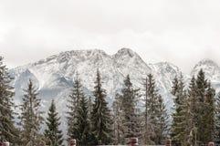 Tatra Mountains with Giewont peak Stock Photos