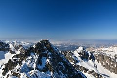 Tatra mountains Stock Image