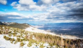 Tatra Mountains landscape royalty free stock photos