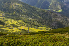 Tatra mountains landscape panorama, Zakopane, Poland Royalty Free Stock Images