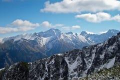 Tatra Mountains. A landscape of the Tatra Mountains in Poland/Slovakia Stock Images