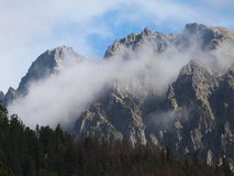 Tatra mountains landscape Slovakia Royalty Free Stock Image