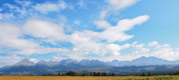 Tatra mountains landscape Slovakia Stock Photo