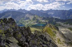 Tatra Mountains Landscape Royalty Free Stock Image