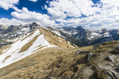 The Tatra Mountains Royalty Free Stock Photo