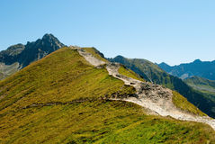 Tatra Mountains national park Royalty Free Stock Photo