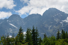 Tatra mountains. Tatra National Park, Zakopane, Poland royalty free stock photos