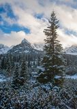 Tatra mountains panorama. Royalty Free Stock Images