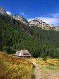 Tatra Mountains in Poland Royalty Free Stock Images
