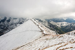 Tatra Mountains in Poland Stock Photography