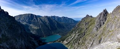 Tatra mountains in Poland in Europe Stock Photo
