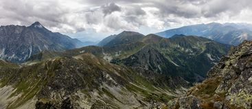Tatra mountains in Poland in Europe Royalty Free Stock Photo