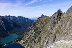 Tatra mountains in Poland in Europe Stock Image