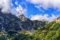Tatra Mountains, Poland. Mount Mnich (Monk), Western Tatra Mountains, Poland stock photography