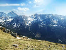 The Tatra Mountains in Poland Royalty Free Stock Photography