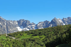 Tatra mountains in Poland Royalty Free Stock Photography