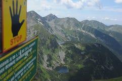 Tatra Mountains Royalty Free Stock Photography