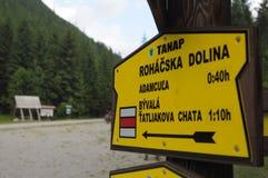 Tatra Mountains Royalty Free Stock Image