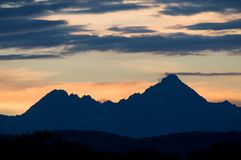 The Tatra Mountains, Slovakia Stock Image