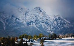 Tatra mountains in Snow Stock Photo