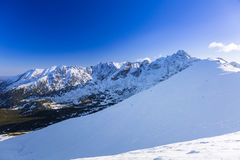 Tatra mountains in snowy winter time Stock Image