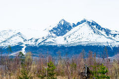 Tatra mountains in spring Stock Photo