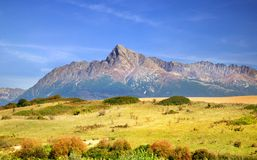 The Tatra Mountains in Summer Royalty Free Stock Photo
