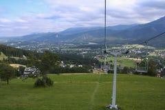 Tatra Mountains and the town of Zakopane Stock Photos