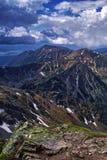 Tatra Mountains. Trail in the Tatra Mountains Royalty Free Stock Photo