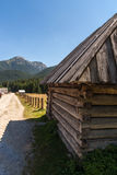 Tatra Mountains View Chocolowska Valley in Poland Royalty Free Stock Images