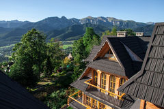 Tatra Mountains View in Poland Stock Image