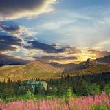 Tatra Mountains, vintage look Stock Photography