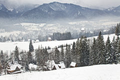 Tatra mountains in winter Royalty Free Stock Photos