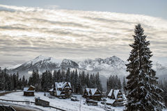 Tatra mountains in winter, landscape Stock Photo